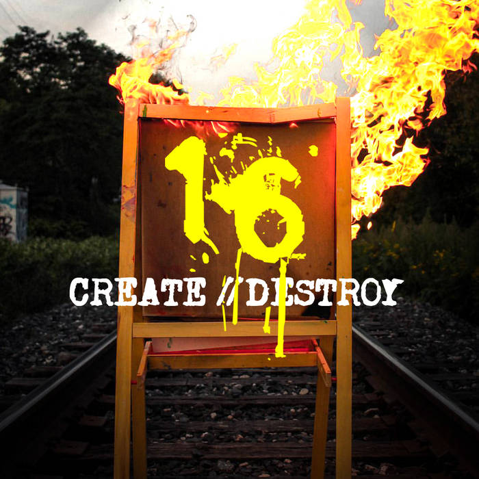 Create // Destroy cover art