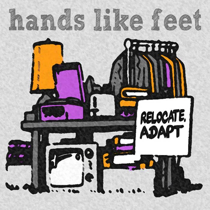Relocate. Adapt. cover art