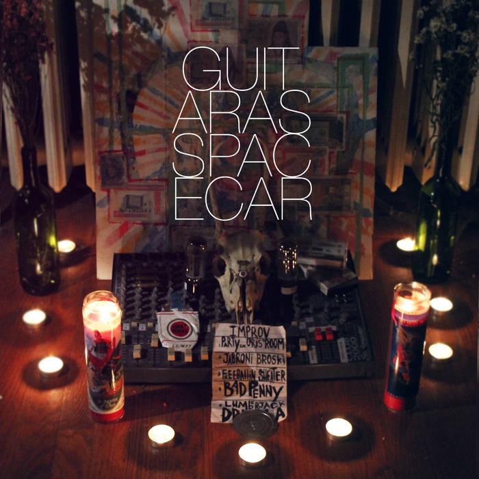 Guitar as Spacecar cover art