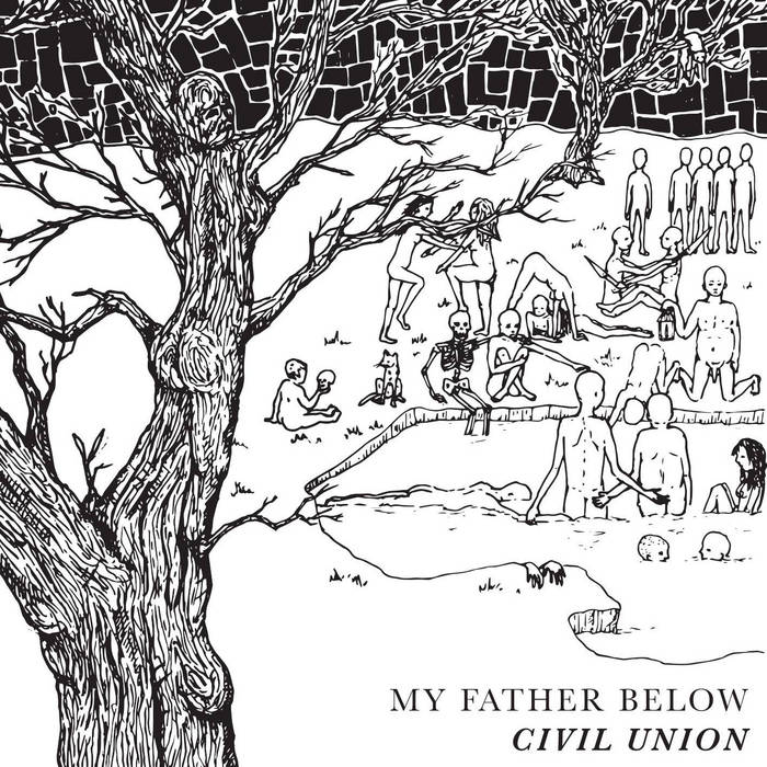 My Father Below cover art