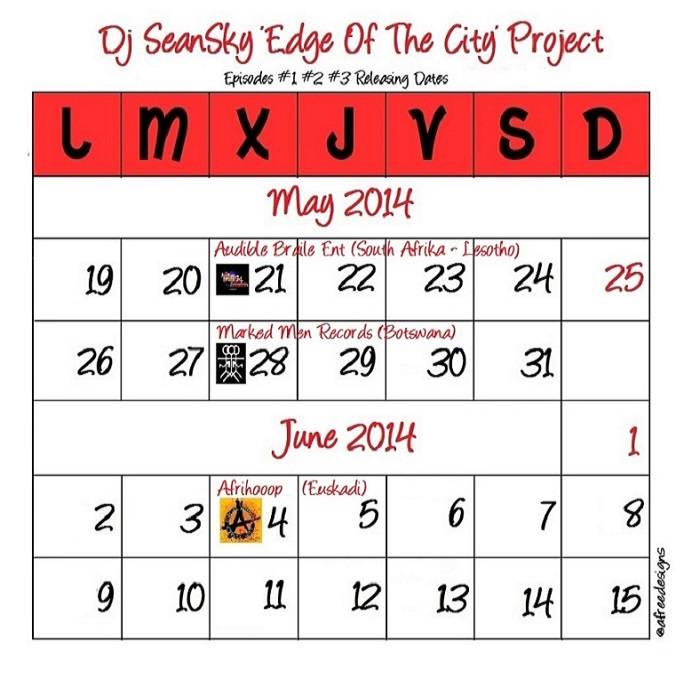 Dj Seanski's Edge of The City Project cover art