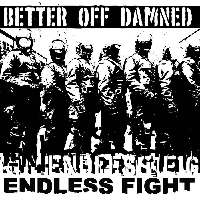 Endless Fight EP cover art