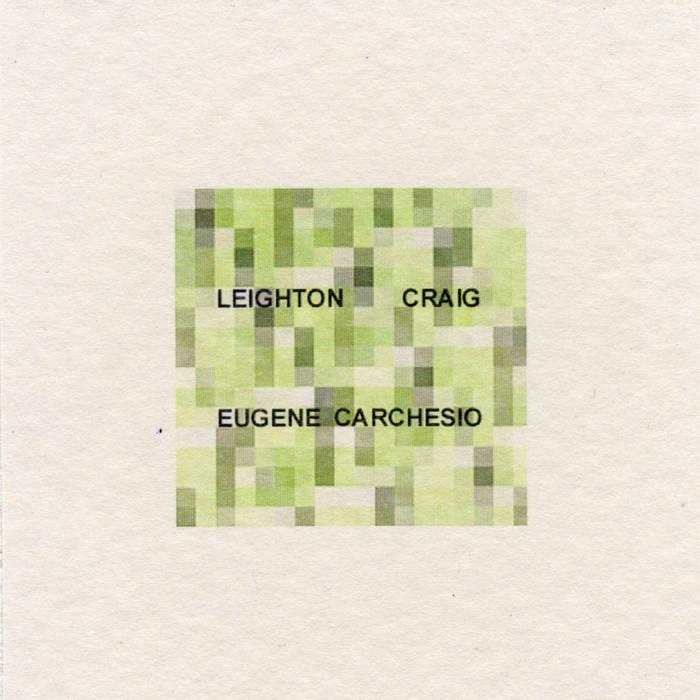Eugene Carchesio & Leighton Craig cover art