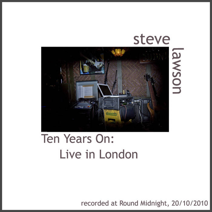 Ten Years On: Live In London cover art