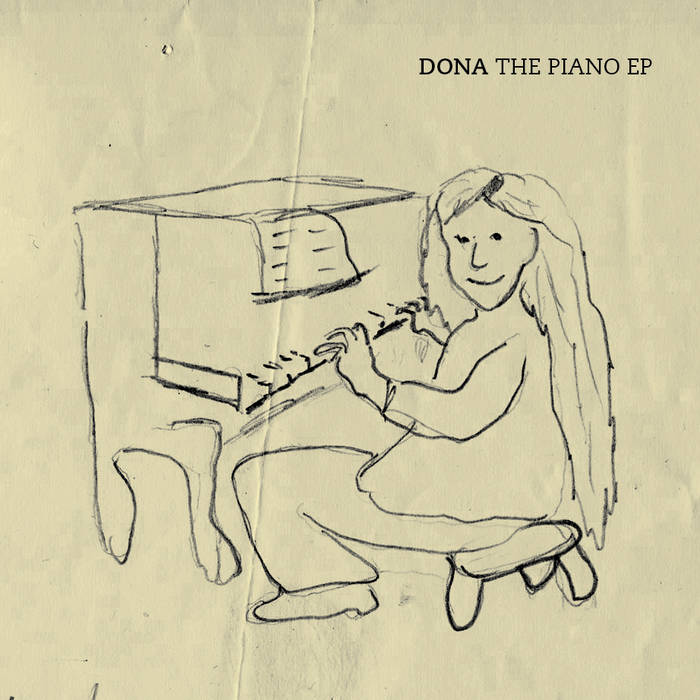 The piano EP cover art