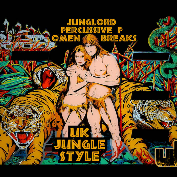 UK Jungle Style feat. Junglord, Percussive P & Omen Breaks cover art
