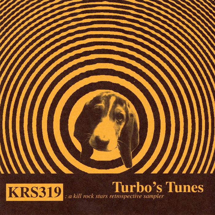 Turbo's Tunes: a kill rock stars retrospective sampler cover art