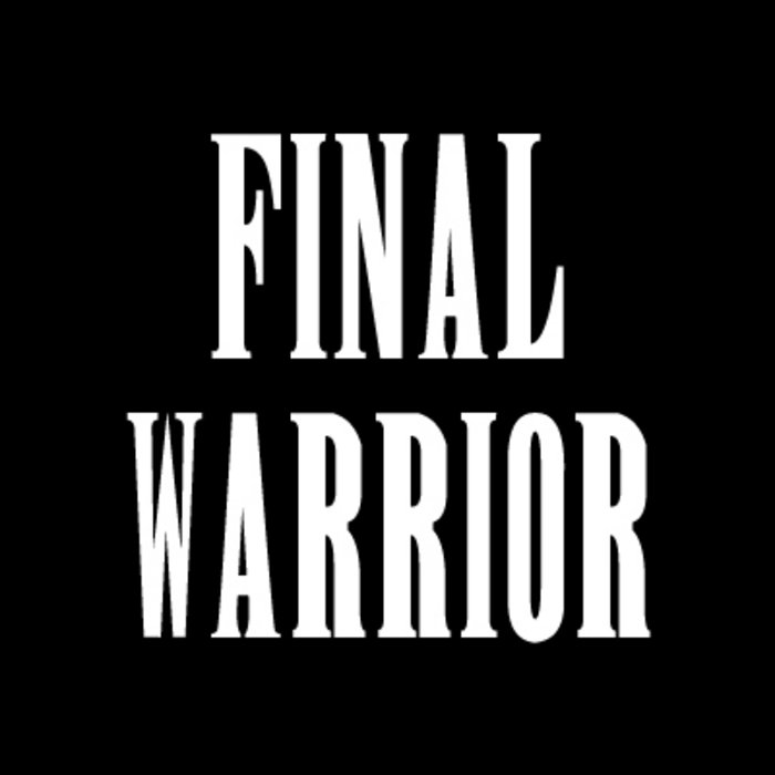 Final Warrior cover art