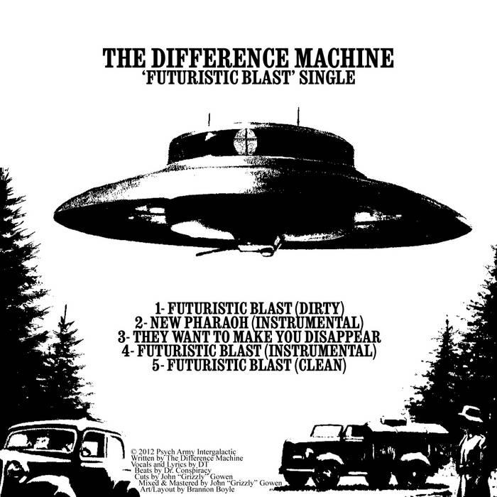 Futuristic Blast Single cover art