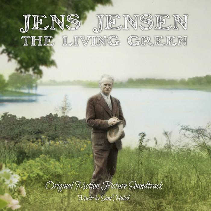 Jens Jensen The Living Green cover art