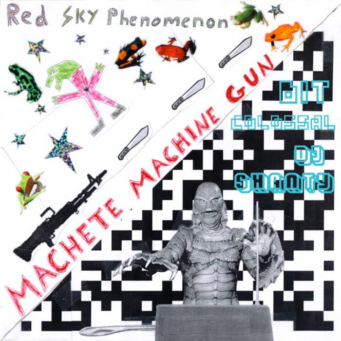 Machete Machine Gun / Bit Colossal cover art
