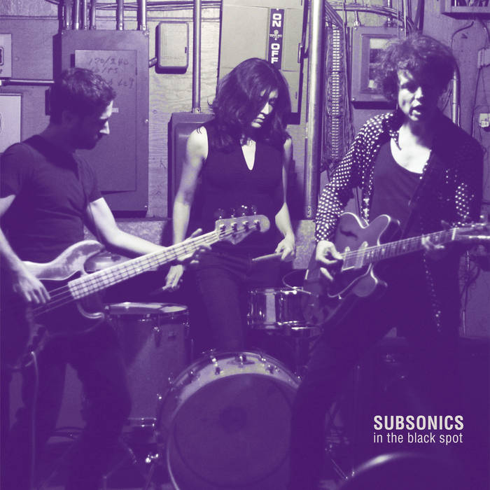 "SUBSONICS ""In the Black Spot"" LP cover art"