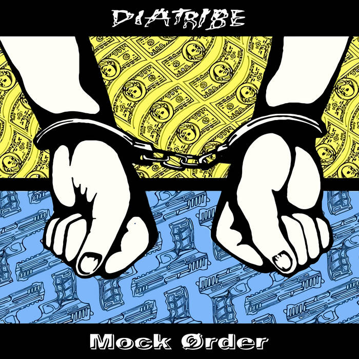 Diatribe/Mock Order split cover art