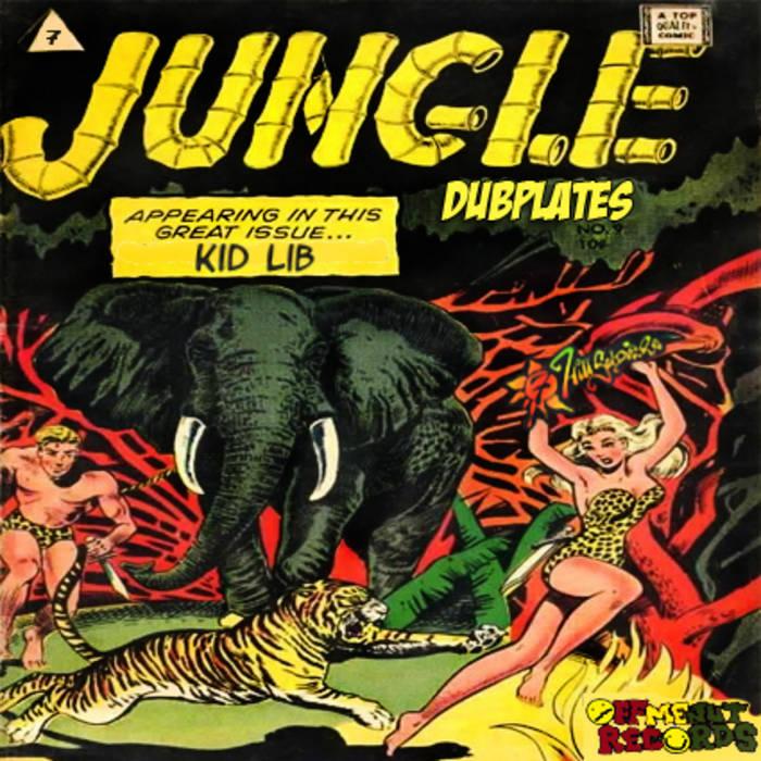 Jungle Dubplates vol.1 cover art