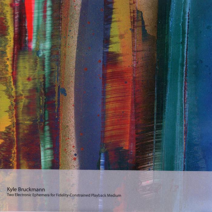 Two Electronic Ephemera for Fidelity-Constrained Playback Medium cover art