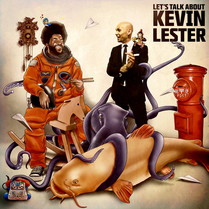 Let's Talk About Kevin Lester (www.thelioncityboy.com) cover art