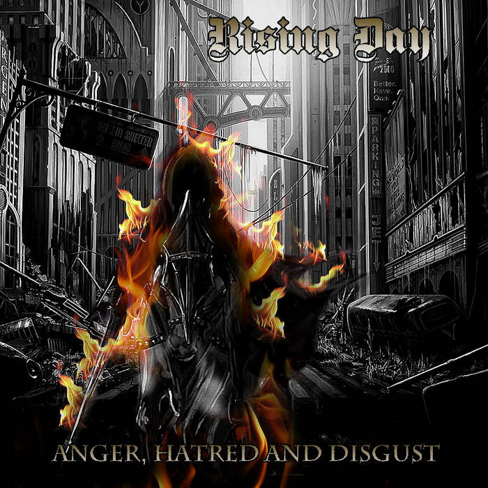 Anger, hatred and disgust cover art