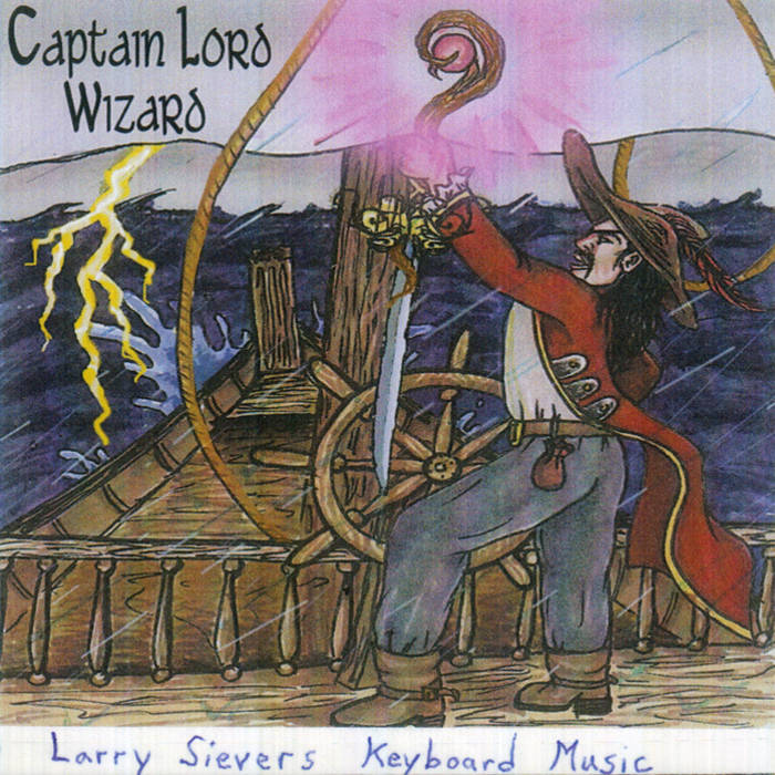 Captain Lord Wizard (2012) cover art