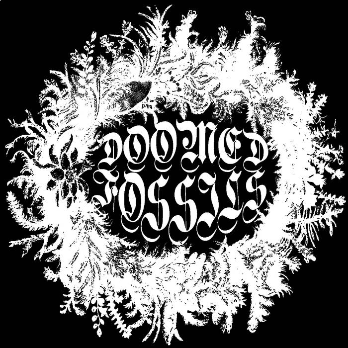 """Doomed Fossils 7"""" lathe + cdr (siht33 / card9) cover art"""