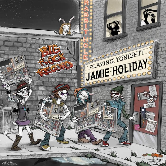 BIG ROCK RECORD cover art