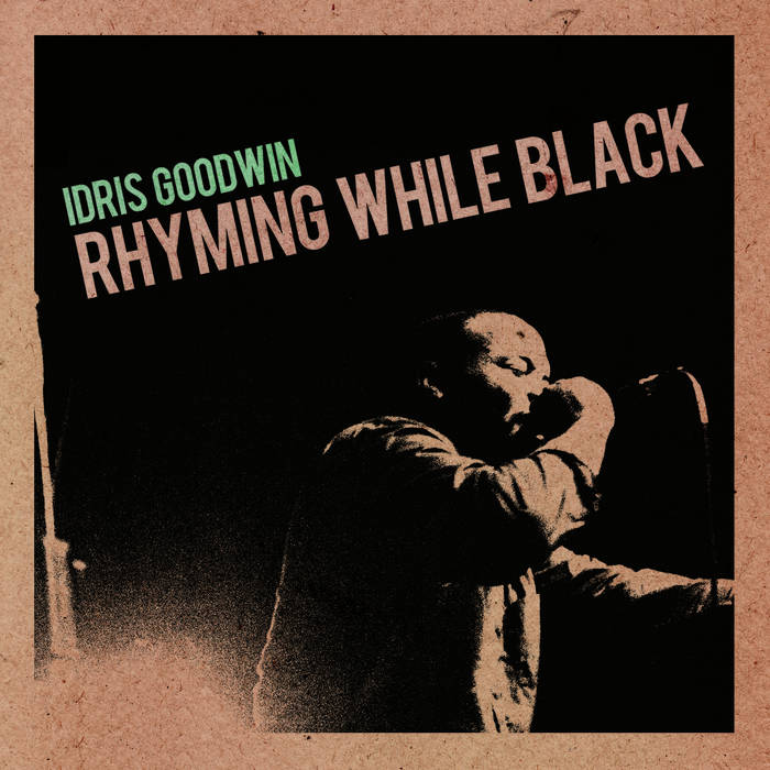 RHYMING WHILE BLACK cover art