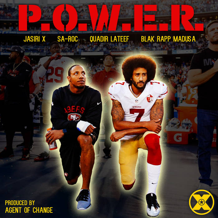 POWER feat Sa-Roc, Quadir Lateef, and Blak Rapp Madusa cover art