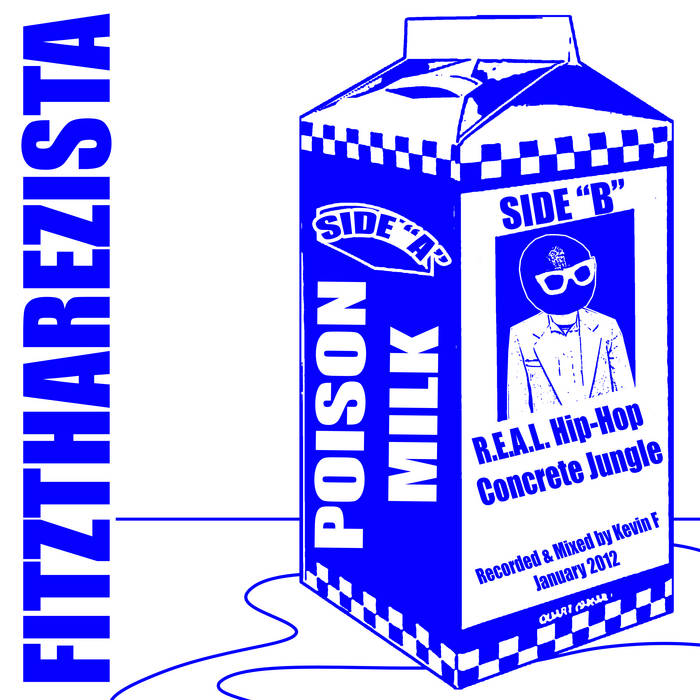 "The ""Poison Milk"" EP cover art"