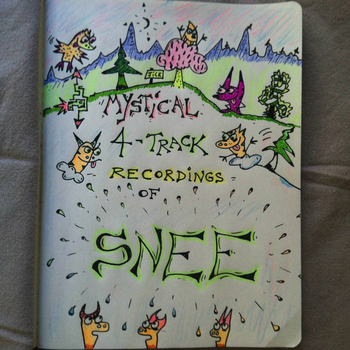 Mystical 4-Track Recordings of Snee cover art