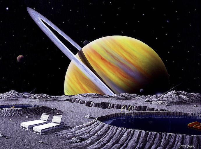 Saturn by Doug Elkins