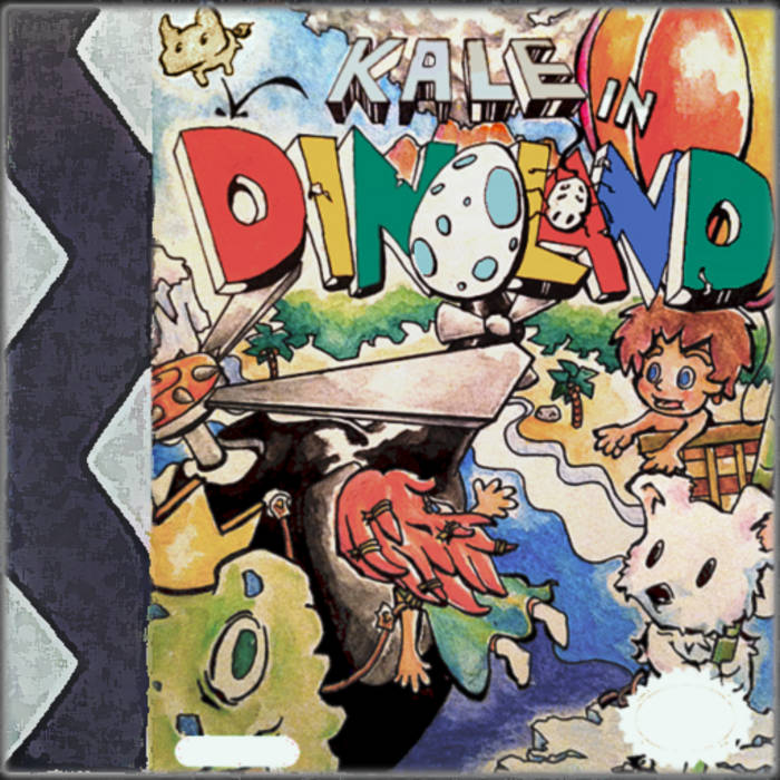 Kale in Dinoland Soundtrack cover art
