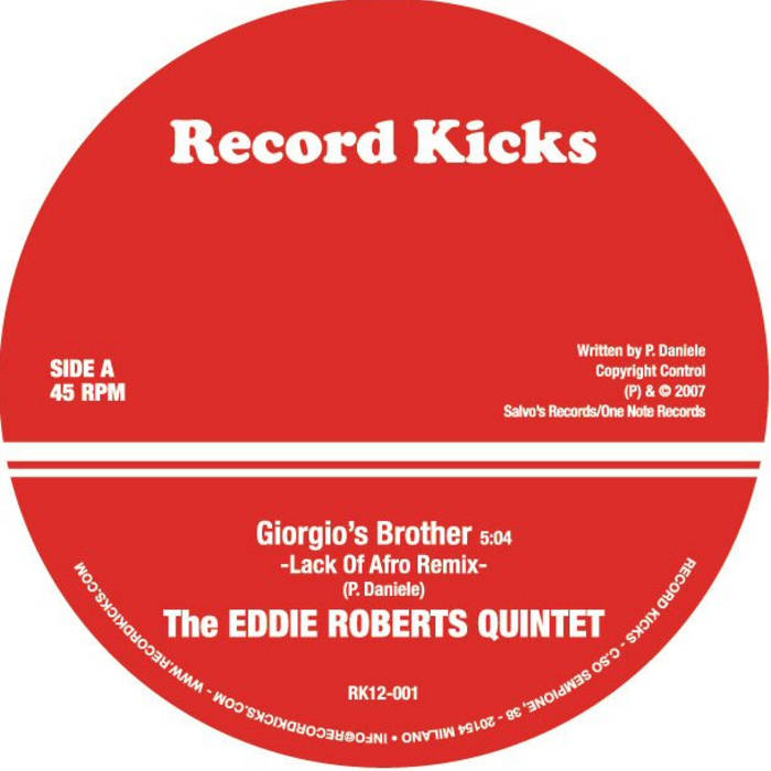 Giorgio's Brother (LOA rmx) / Wait A Minute (LOA rmx) cover art