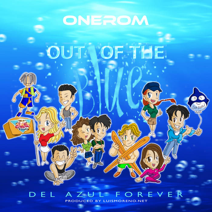 Out of the Blue - Del Azul Forever cover art