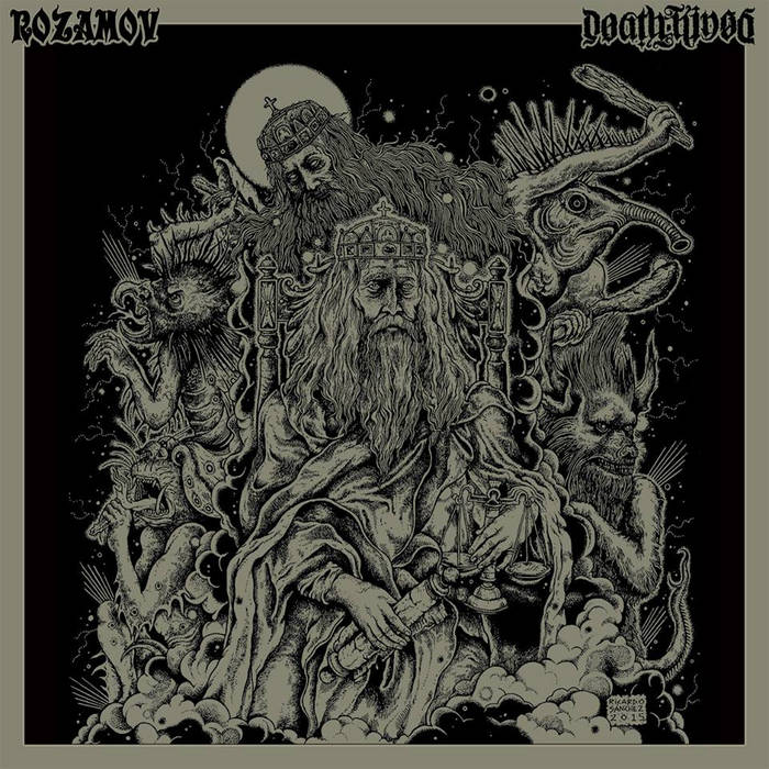 Rozamov/Deathkings Split 7inch cover art