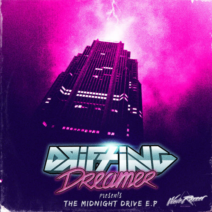 DRIFTING DREAMER - The Midnight Drive EP cover art