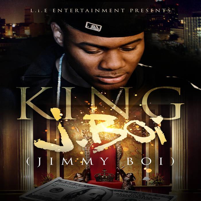 """King JBoi - """"Singles"""" cover art"""