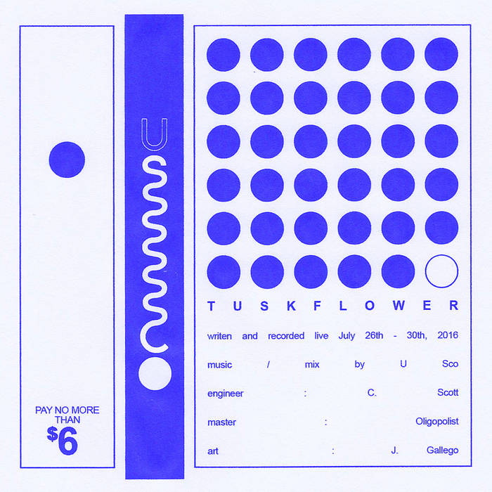 TUSKFLOWER cover art