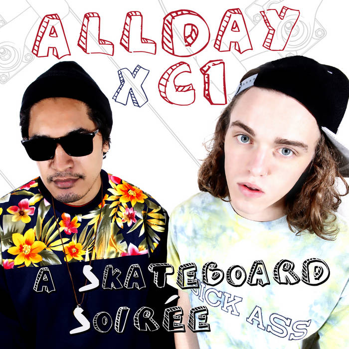 A Skateboard Soiree E.P cover art