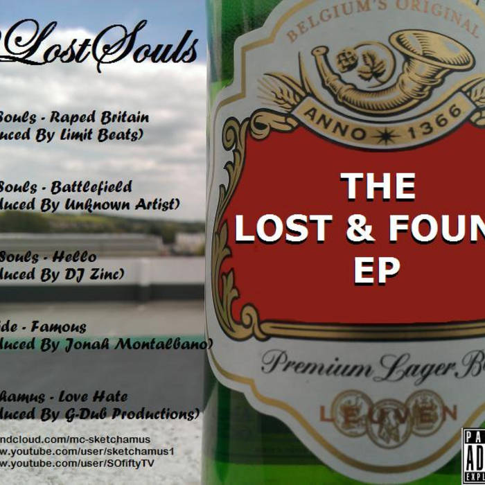 The Lost & Found EP. cover art