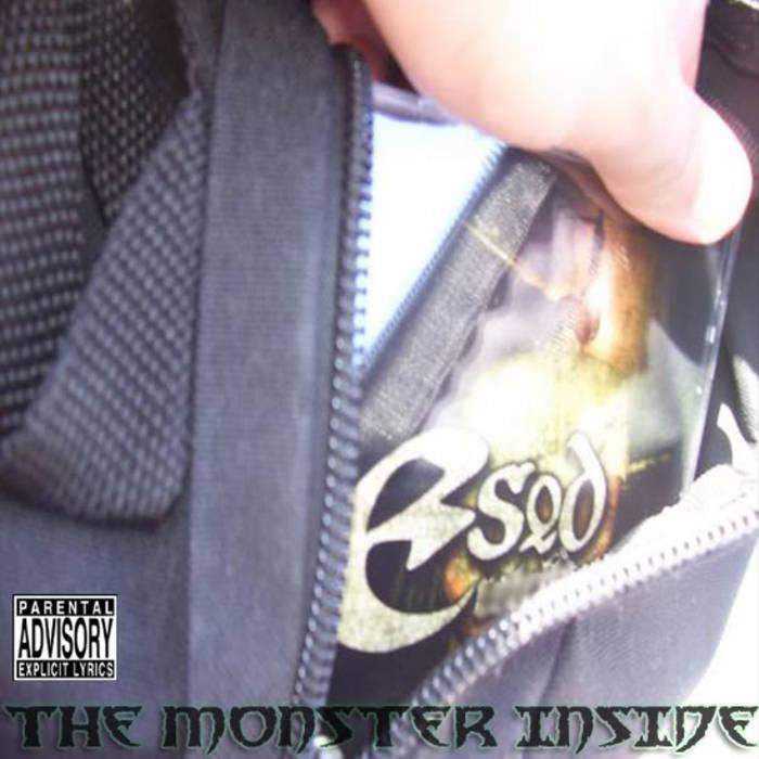 THE MONSTER INSIDE cover art