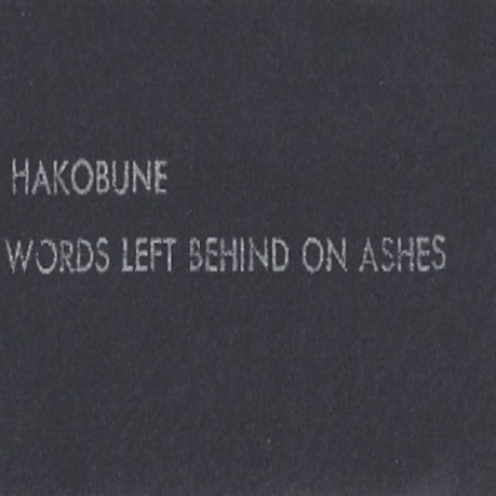 words left behind on ashes cover art