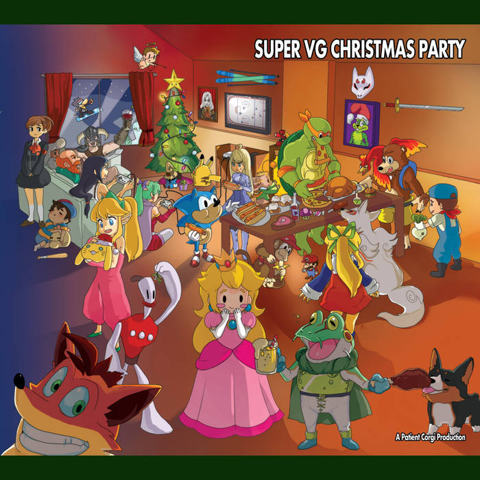 Super VG Christmas Party cover art
