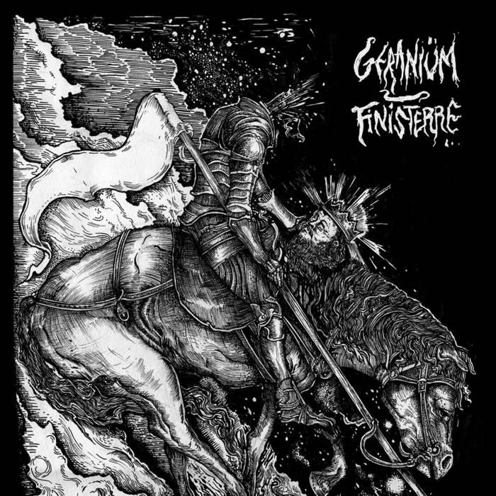 FINISTERRE / GERANIÜM - split EP cover art