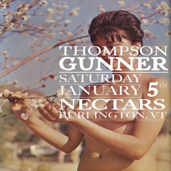 thompson gunner-live@nectars cover art