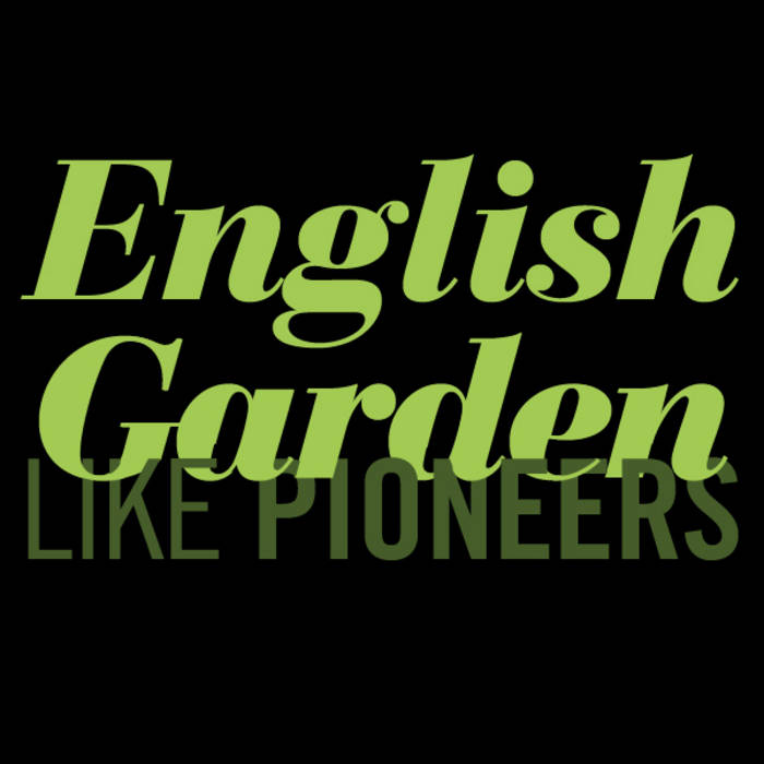 English Garden EP cover art