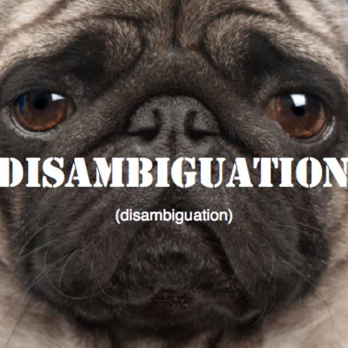 Disambiguation cover art