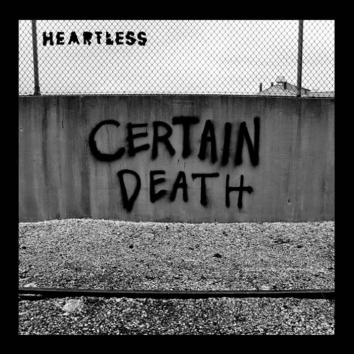 "Certain Death 7"" cover art"