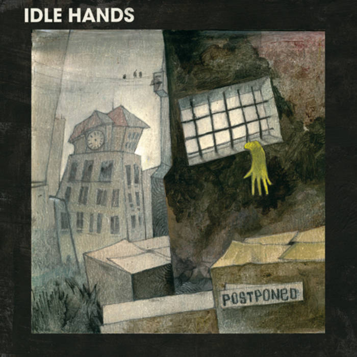 Idle Hands - Postponed LP cover art