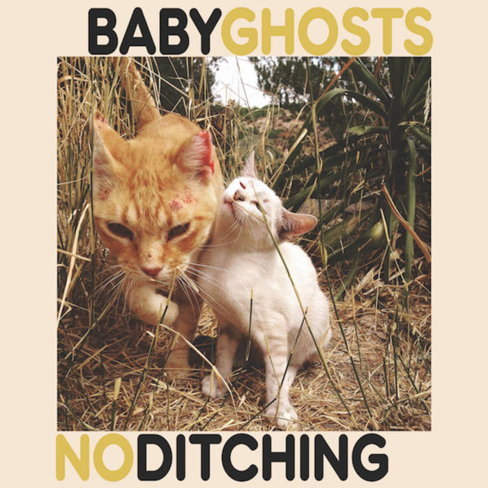 """No Ditching / Baby Ghosts 7"""" cover art"""