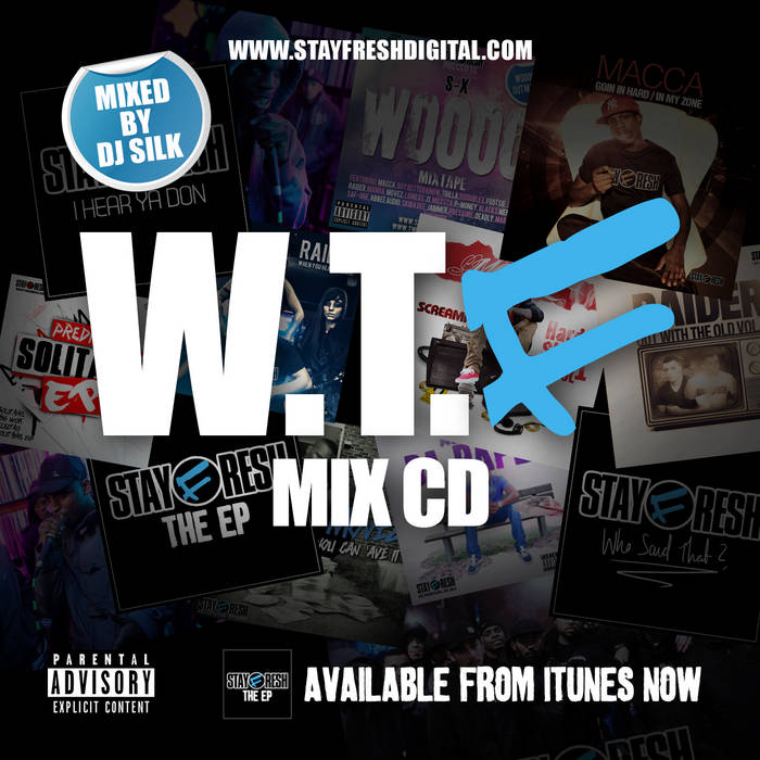 StayFresh - W.T.F Mix CD cover art