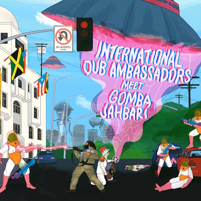 International Dub Ambassadors Meet Gomba Jahbari cover art